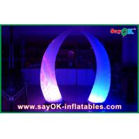 Quality Inflatable Lighting Decoration Inflatable Tusk Decoration With LED for sale