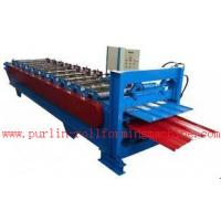 Quality Waterproof Corrugated Roof Tile Roll Forming Machine for Factory , Warehouse , Garage for sale