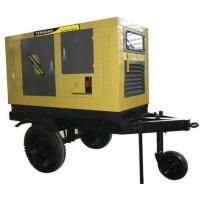 247.5KVA 180 KW trailer mounted diesel generator for long distance rapid power supply