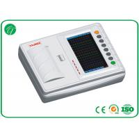 China Automatic Printing Portable ECG Machine With High Accuracy Touch Screen on sale