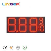 Quality 16 Inch Led Digital Natural Gas Price Sign Pylon Billboard for Outside for sale