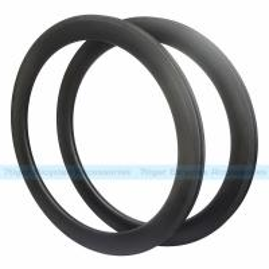Quality 7-tiger bicycle parts 60 x 25 mm basalt brake carbon Clincher road rims ud weave matte U shape bicycle wheels for sale