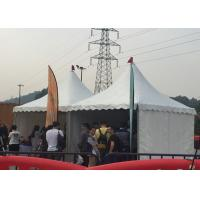 Buy 3 X 3m Outside Pagoda Party Tent Flame Retardant Sidewalls With White Window at wholesale prices