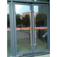 Commercial Aluminum Window & Door with door closer, automatic closed aluminum entry door