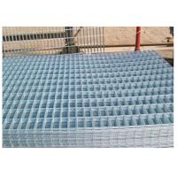Buy Thick Coating Square Flat Galvanized Sheets , Welded Wire Mesh Panels 1 X 2 at wholesale prices
