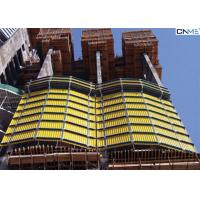 Quality High­Er Pro­Duc­Tiv­Ity Construction Safety Screens Self Climbing With Hydraulic Power for sale