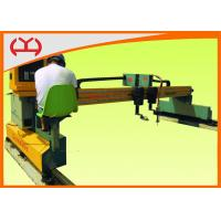 Stainless Steel / Copper CNC Gantry Flame Cutting Machine -10℃ - 60℃ CE Standard