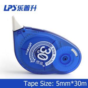 China Titanium Dioxide Colorful Decorative Correction Tape Plastic 30m 90162 on sale