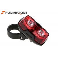 Quality 2 LEDs Red Bike Light , 3 Mode Flashing Lamp Safety Warning Rear Cycle Lights for sale
