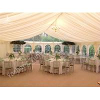 Quality Wedding Reception Marquee  Luxury Wedding Marquee Tent with Anodized Aluminum for sale