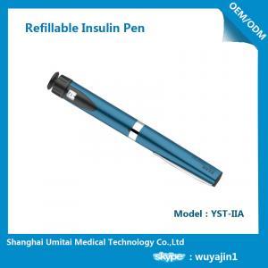 Sapphire Blue Purple Insulin Pen , Regular Insulin Pen For Humalog Cartridge