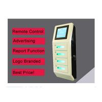 China Cell Phone Wall Mounted Charging Station With Digital Lockers , Free Charge on sale