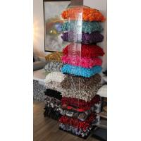 Quality 4-Tier Cushion Acrylic Pop Display Stand With Screenprint Logo for sale