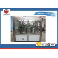 Quality Electric Commercial Can Filling Machine 6000CPH 2950 × 2150 × 2200mm PLC Control for sale