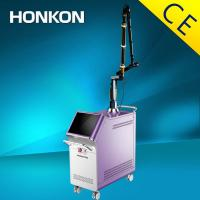 Buy CE Q Switch Nd Yag Laser Tattoo Removal Machine With Low Energy Loss Korean at wholesale prices