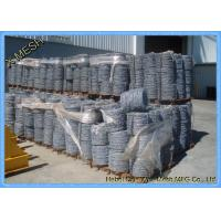 Buy cheap Border Security Protection Galvanized Barbed Wire Steel ASTM Standards from wholesalers