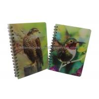 Quality Custom A4/A5/A6 3D Lenticular Notebook For Children CMYK Offset Printing for sale