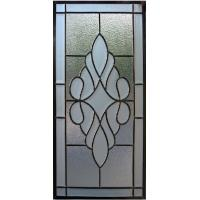 Quality patina caming triple glass panel of  new design for sale