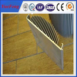 Quality anodized aluminum extrusion heatsink, 6000 aluminum alloy aluminium amplifier heat sink for sale