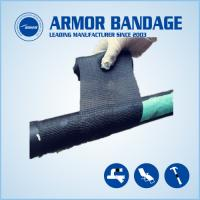 Quality High Rigidness Fast Hardening Bandage Emergency Fiberglass Pipe Repair Bandage Cast Armored Tape for sale