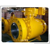 Quality API 6D F316 CF8M TRUNNION MOUNTED CAST OR FORGED BALL VALVE for sale