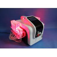 China 100mw Smart  Lipo Laser Slimming Machine , 72 Diodes lipolaser Body Contouring System for sale