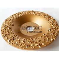 Quality Gold Buffing Tungsten Carbide Grinding Disc For Roughing Rubber And Fabric for sale