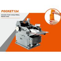 Buy cheap Pocket 124 Automatic Pocket Envelope Making Machine Series 200 Pieces / Min from wholesalers