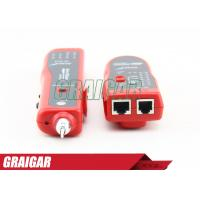 Buy RJ45 Cable Tester Network Test Equipment Wire Fault Locator And Wire Tracker at wholesale prices