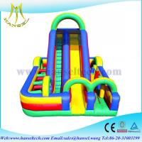 Quality Hansel inflatable obstacle course games/ inflatable obstacle races games for fun for sale