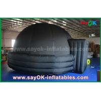 Quality Customized 5m / 6m Dia Inflatable Projection Dome Tent For Kids / Adults for sale
