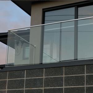 Buy cheap aluminum u channel glassbalustrade, u channel glass railing from wholesalers