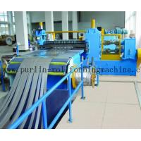 Quality Automatic Control Metal Slitting Machine Durable Carbon Steel / Galvanized Coils for sale