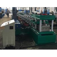 China 2 Waves Guard Rail Roll Forming Machine 37KW + 11KW Gear Box Hydraulic Decoiler on sale