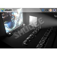 Quality High Class Hydraulic / Servo Motor 5D 7D 9D Theater System With True Adventures for sale