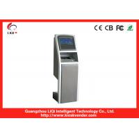 Quality 19 Inch LED Touch Screen Bill Payment Kiosk Safety For Outdoor Indoor for sale