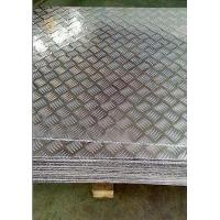 Buy 4mm Aluminium Checker Plate , Aluminum Diamond Tread Plate For Ceilings / Walls at wholesale prices