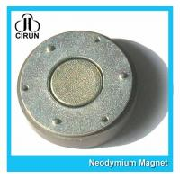 Quality Small Thin Custom Neodymium Magnets , Strong Round Flat Ndfeb Magnet for sale