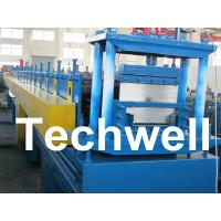 Quality 2.5mm Thickness Ridge Cap Roll Forming Machine With Manual, Hydraulic Decoiler for sale