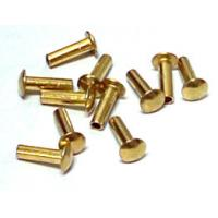Quality Precision Hardware Parts Zinc / Chrome / Nickle Plating Rivets, Stainless Steel Rivets for sale