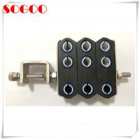 Quality M8 Threaded Hole Feeder Cable Clamp For ZTE Huawei Base Station CE / RoHS for sale