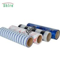 China LOGO Customized Temporary Protective Film PE Clear Self Adhesive Anti Dust coil on sale
