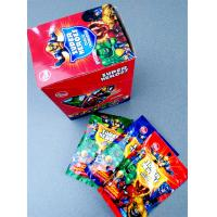 Quality Super Heroes Fruit Powder Candy With Poker Healthy And Funny for sale