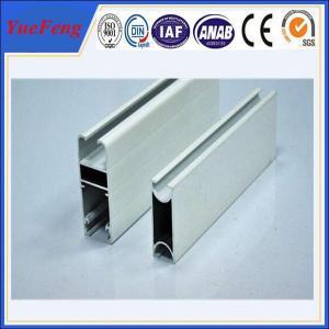 Quality Hot! OEM/ODM aluminum frames door parts with glass panel, aluminum door frame extrustion for sale