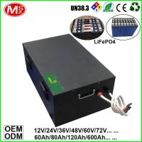 China 48V 300Ah EV Car Battery LiFePO4 Lithium Ion Battery Storage With BMS on sale