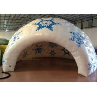 Quality Sealed Dome Inflatable Event Tent Advertising Digital Printing 5 X 5m 0.65mm PVC for sale