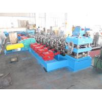 Quality Macedonia Construction Crash Barrier Expressway Guardrail Cold Forming Machine Gearbox Driven 3 mm Plate Thickness for sale