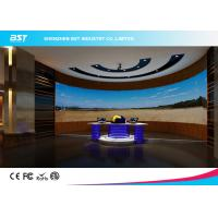Quality SMD2121 P4mm Indoor Full Color Advertising curved video LED screen For Shopping Malls for sale
