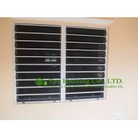 Quality Aluminum Safe Glass Louvered windows with tinted glass, hurricane-proof Louvered windows for sale