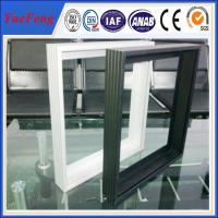 Quality Wow!! Solar panel aluminium profile anodized frosted silver for sale